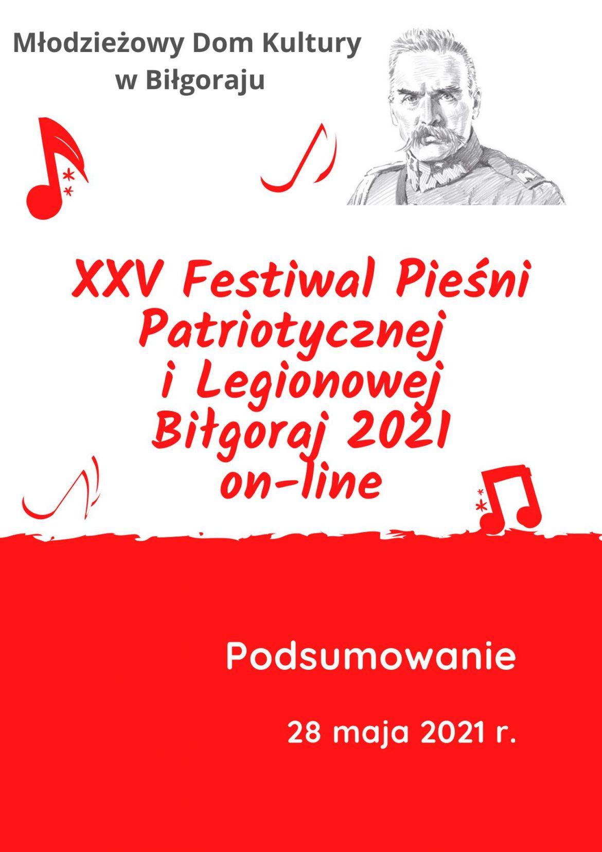 Rozstrzygnięty – XXV Festiwal Pieśni Patriotycznej i Legionowej