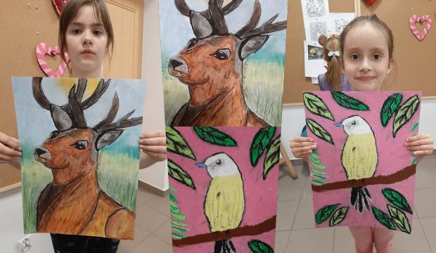 Piękno natury w ujęciu młodych artystek