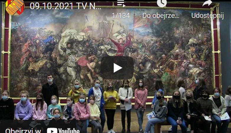 kadr do audycji z dnia 09.10.2021 TV NaFali