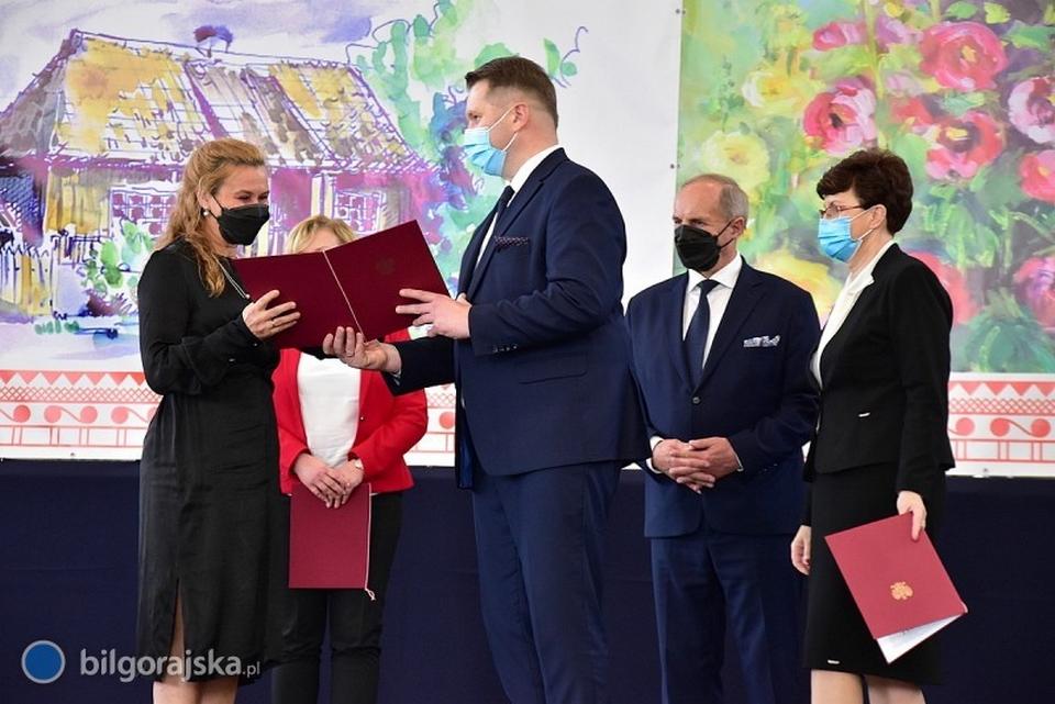 Nagroda Ministra Edukacji i Nauki dla Pani Edyty Buczek